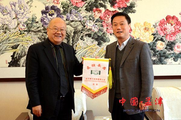 孟津籍海外侨胞陈金明博士回乡探亲受到欢迎